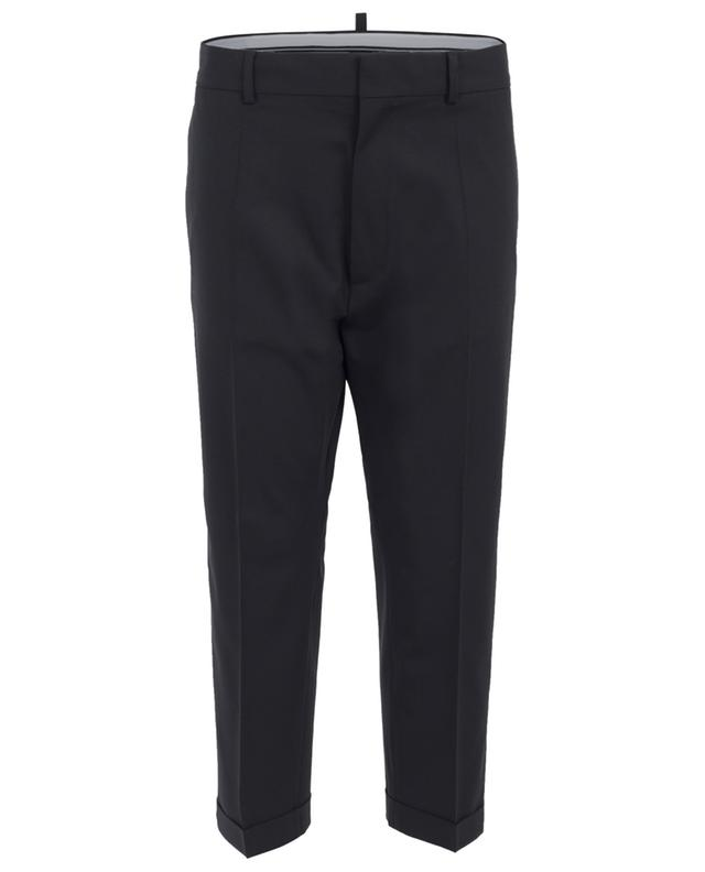 Pantalon large en laine Dennis Fit DSQUARED2