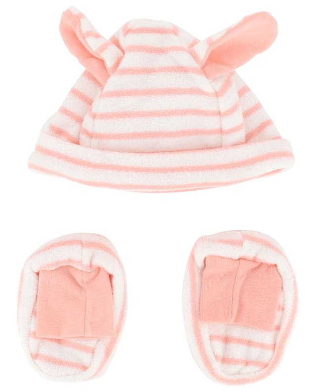 Beanie and slippers in cotton terry PETIT BATEAU