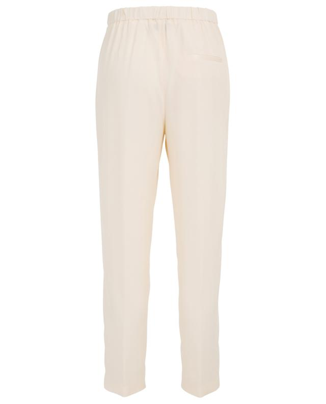 Fluid trousers with elasticated waistband FORTE FORTE