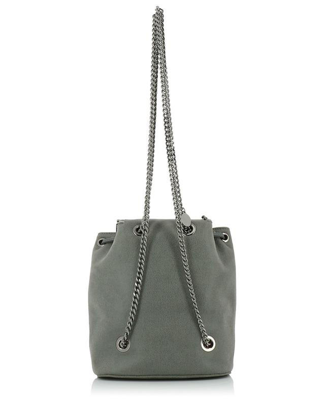 Falabella Shaggy Deer Mini faux suede backpack STELLA MCCARTNEY