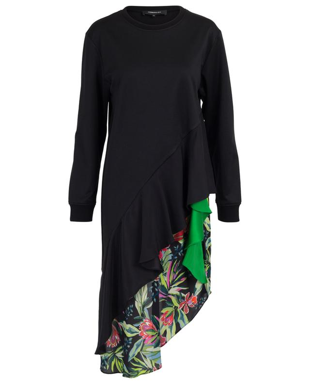 Cotton blend and silk knit dress BARBARA BUI