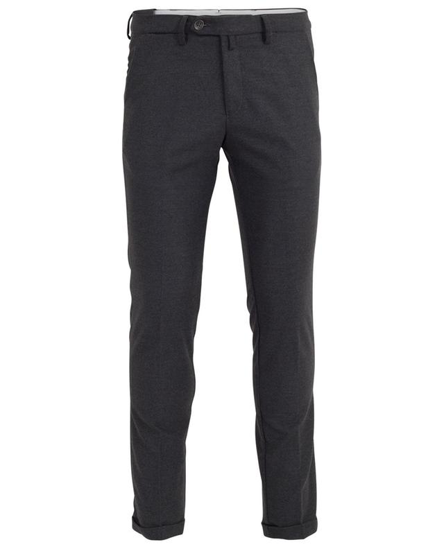 Slim-Fit flannel trousers B SETTECENTO