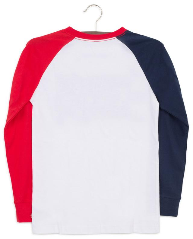 Colour Blocked Sportswear Logo long-sleeved T-shirt LEVI'S KIDS