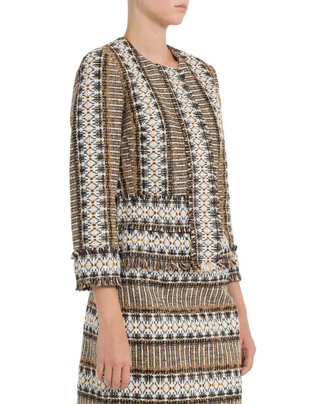 Jessica blended cotton jacket TORY BURCH