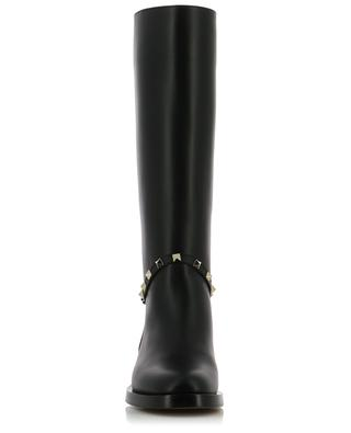 Rockstud leather boots VALENTINO