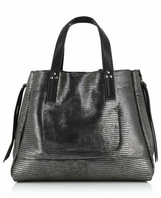 Georges M metallic leather tote bag JEROME DREYFUSS