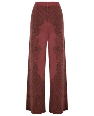 Cashmere wide leg trousers ETRO