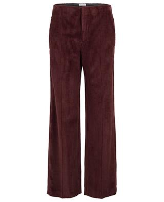 Corduroy wide-leg trousers BRUNELLO CUCINELLI