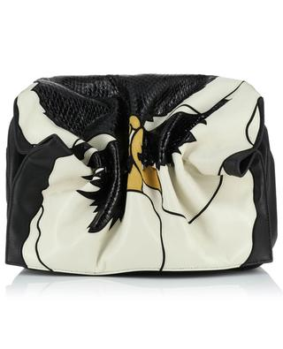 Bloomy leather shoulder bag VALENTINO