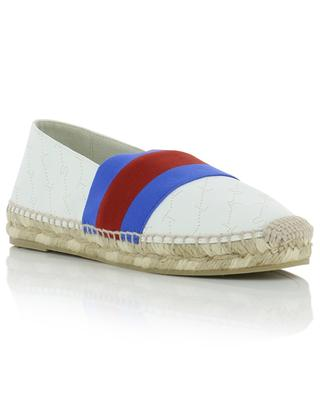 Espadrilles en cuir synthétique Monogram STELLA MCCARTNEY