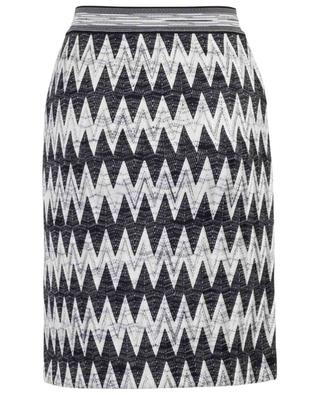 Viscose and wool blend pencil skirt MISSONI