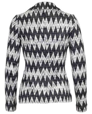 Viscose and wool blend jacket MISSONI