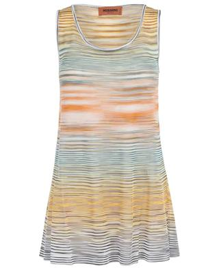 Striped viscose tank top MISSONI