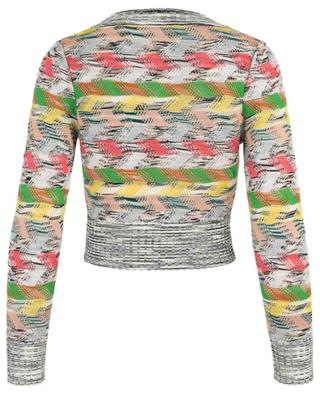 Wool blend V-neck jumper MISSONI
