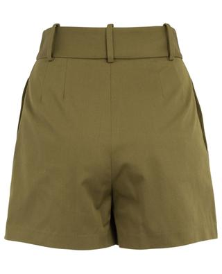 Cotton twill culotte spirit shorts ERMANNO SCERVINO