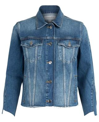 Le Jacket Triangle Gusset denim jacket FRAME