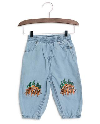 Hose aus Chambray Veg Gang STELLA MCCARTNEY