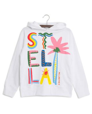 Sweatshirt mit Print Stella Palm STELLA MCCARTNEY