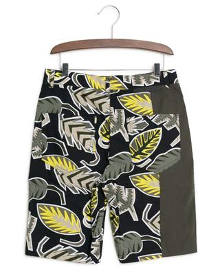 Leichte Shorts mit Print Palm Leaf STELLA MCCARTNEY
