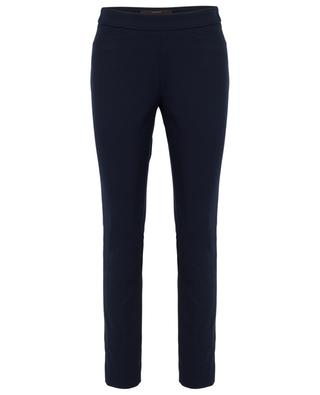 Cotton twill slim fit trousers WINDSOR