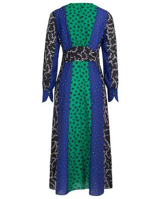 Long empire waist dress in floral patchwork MARC CAIN