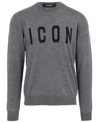 Pull col rond en laine Icon DSQUARED2
