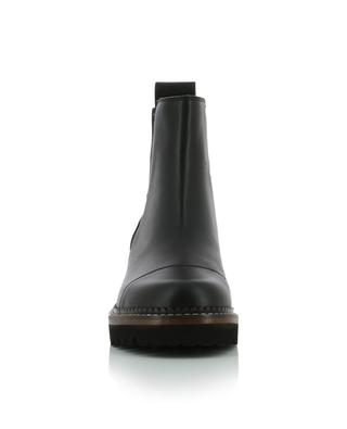 Eileen 50 round tip leather ankle boots SEE BY CHLOE