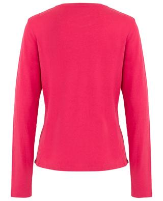 Cotton and cashmere blend long-sleeved T-shirt MAJESTIC FILATURES