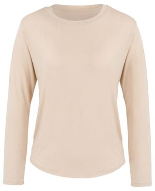 Soft Touch glittering long-sleeved T-shirt MAJESTIC FILATURES