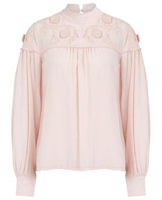 Viscose blouse with embroideries SEE BY CHLOE