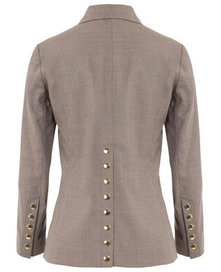Military lightweight wool stretch jacket CHLOE
