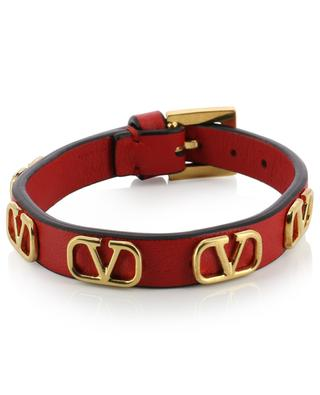 Multi VLOGO leather bracelet VALENTINO
