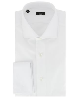 Monochrome cotton shirt BARBA