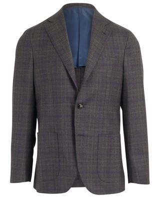 Glar check virgin wool blazer BARBA