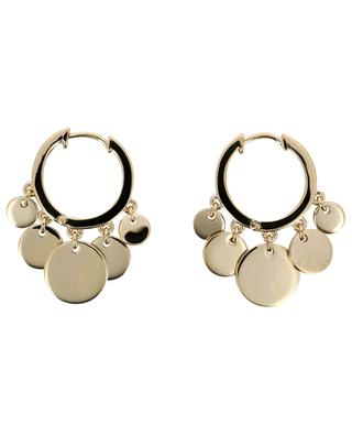 Confetti gold plated silver hoop earrings AVINAS