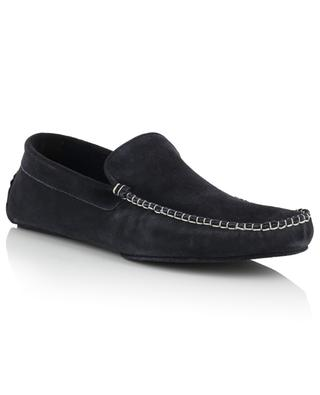 Flannel lined suede slippers FEDELI