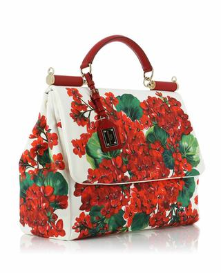 Sicily Soft Large Portofino print canvas bag DOLCE & GABBANA