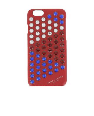 Leather iPhone 6S case with strass MARC BY MARC JACOBS