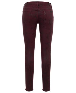 Jean effet peau de serpent The Skinny Coated Ruby 7 FOR ALL MANKIND