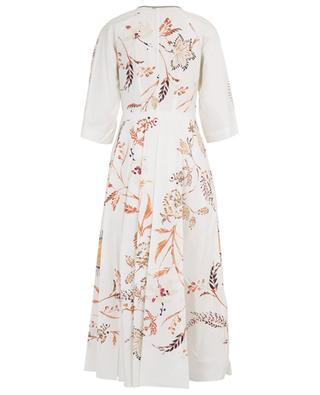 Havana Dream poplin print maxi dress DOROTHEE SCHUMACHER
