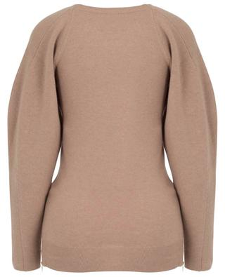 Soft Simple raglan sleeve jumper with size zippers STELLA MCCARTNEY
