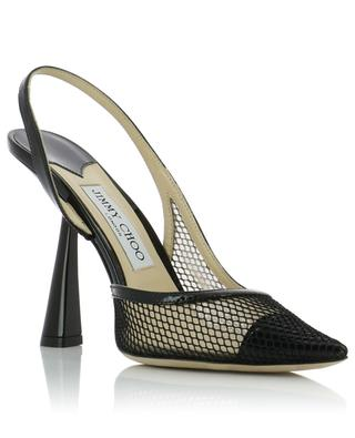 Sling-Back-Pumps aus Mesh Fetto 100 JIMMY CHOO