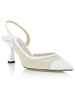 Pumps aus Lackleder und Mesh Fetto 65 JIMMY CHOO