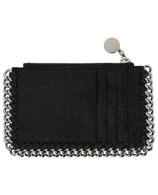Falabella Shaggy Deer card holder with zippered pocket STELLA MCCARTNEY