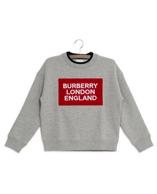 Sweat-shirt logo éponge Fabbio BURBERRY
