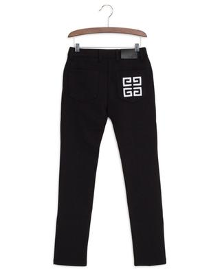 Leggings im Jeans-Look mit Logostickerei 4G GIVENCHY