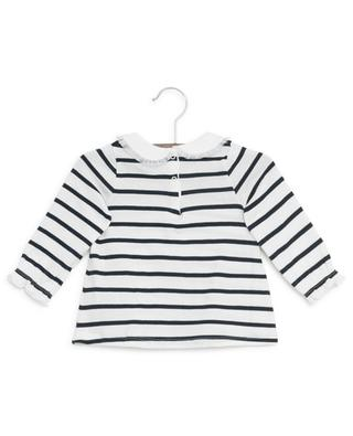 Long-sleeved cotton Breton T-shirt PETIT BATEAU