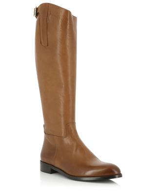 Flat leather boots BONGENIE GRIEDER