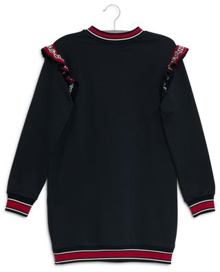 Back To School embroidered sweat dress DOLCE & GABBANA
