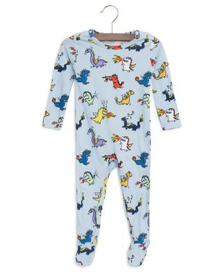 Gift box of two dragons-print sleepsuits STELLA MCCARTNEY KIDS